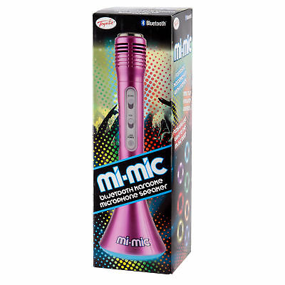 Mi-Mic Microphone Speaker with Bluetooth by Toyrific - Pink