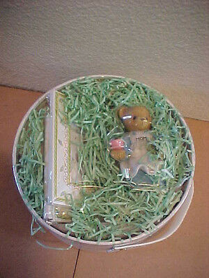 Cherished Teddies I Just Called to Say I Love You Mom New in Round Box Frame