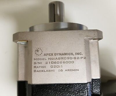 Apex Dynamics Servo Reducer Abr090-S1-P2 Ratio 20:1, 90 Degree Angle Gearhead