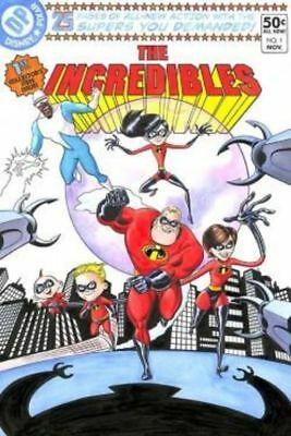"""""""The Incredibles #1"""" (Deluxe) By Bill Morrison"""