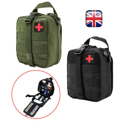 Outdoor Emergency Bags Travel Carry Tactical EMT Medical First Aid Kit Home Car