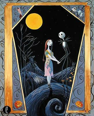 """""""Together"""" by Tricia Buchanan-Benson inspired by The Nightmare Before Christmas"""