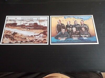 Turks And Caicos Islands 1994 Sg Ms1277 50Th Anniv Of D-Day Mnh