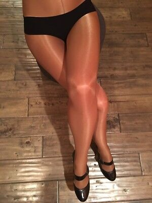 Aria Shimmery Shiny Glossy Dance Tights Pantyhose with a good support 4 colors