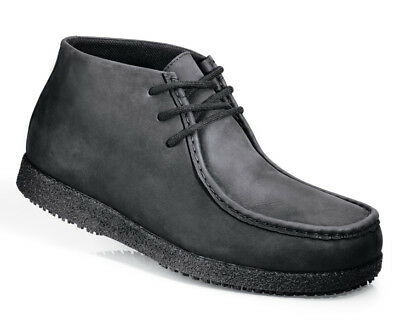 SFC Shoes for Crews Wally Black Suede Men's Shoes 8580 Size 11 / 45 $59