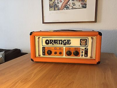 Orange Matamp Pics Only GRO-100 Bj. 1972 Plexi 100% Original