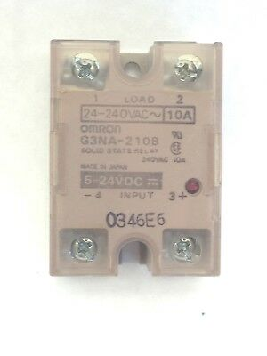 Omron G3Na-210B-Dc5-24  Relay - Solid State (A735)