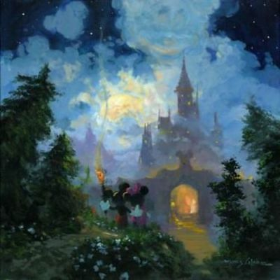 """Adventure to the Castle Gates"" (Premiere) by James Coleman with Mickey Mouse an"