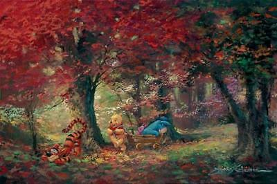 """""""Adventure in the Woods"""" by James Coleman inspired by Winnie the Pooh"""