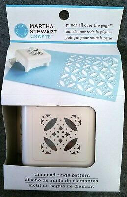 Martha Stewart Punch All Over The Page: Diamond Rings Pattern  (2011) NIB