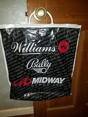 Pinball Williams Bally Midway promotional collectible shopping bag