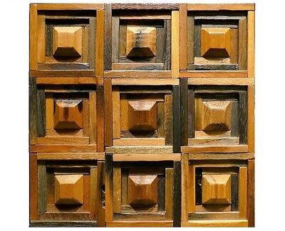 Wooden Wall Tiles, Decorative Wall Tiles, Wood Tiles For Pub, Cafe, Restaurant