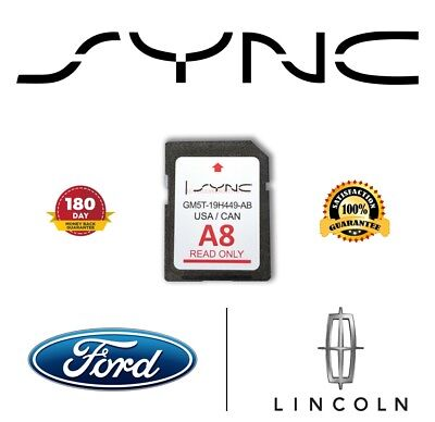 map update  navigation sd card sync fits  ford lincoln updates   picclick ca