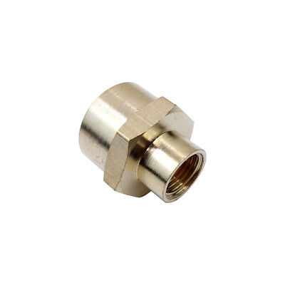 """1/2"""" *1/8"""" BSPP Brass Pipe Fitting Female Reducing Coupling Connector Water Boat"""