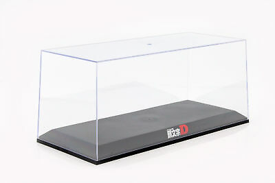 Display Cabinet Initial D for Model Cars on a Scale of 1:18 Black AUTOart