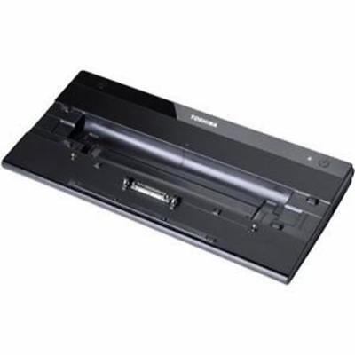 TOSHIBA Hi Speed Port Replikator II incl. 2 pin AC Dockingstation schwarz