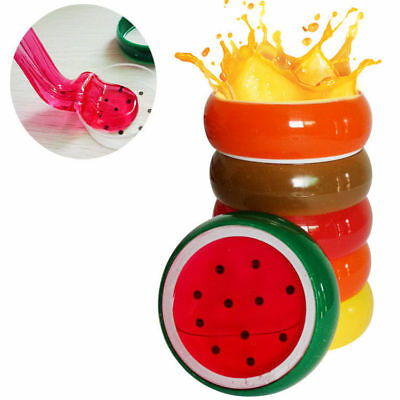 CO_ Creative Fruit Crystal Clay Putty Jelly Slime Plasticine Mud Kids Toy Eyeful
