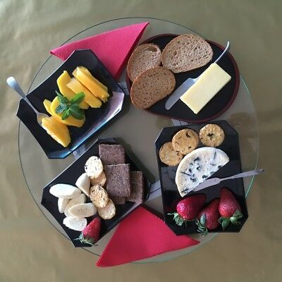 Revolving Lazy Susan Table Serving Plate 80cm, makes Food Reachable to everyone