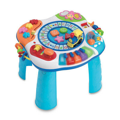 Letter Train Musical Activity Table Pre School Toys Birthday Christmas Gift