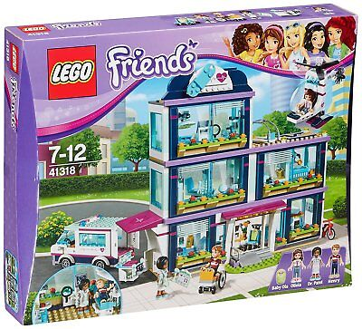 LEGO FRIENDS 41318 - Heartlake Hospital Krankenhaus Ziekenhuis construction set
