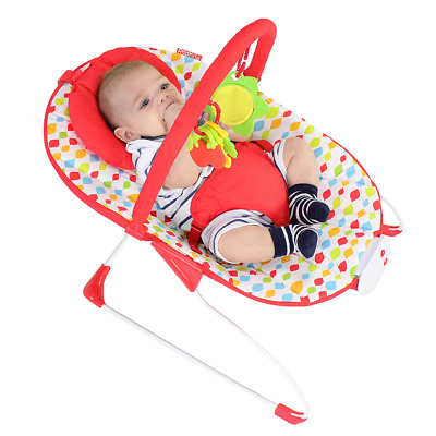 Red Kite Baby Bouncer Chair 3 Point Harness Play Newborn Sit Jungle