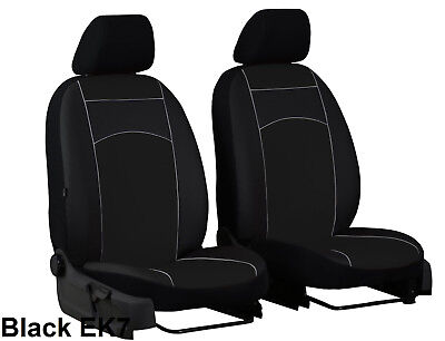ISUZU D-MAX Mk2 2012 ONWARDS ECO LEATHER FRONT SEAT COVERS MADE TO MEASURE