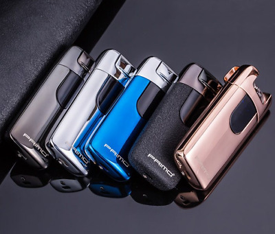 Luxurious Electric Rechargeable Lighter Arc Windproof Flameless Plasma Torch