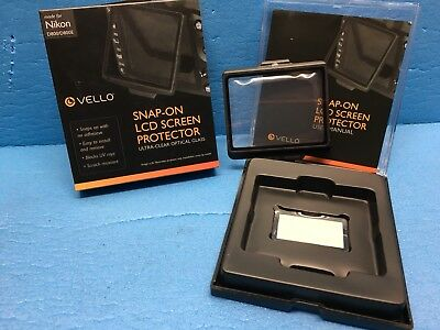 Vello Snap-On Glass LCD Screen Protector for Nikon D800, D800E & D810