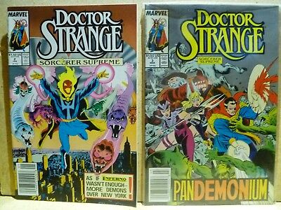 Dr Strange comic lot, 1989, 2 to 61, annuals 2,3