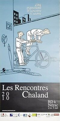 Joost Swarte - Poster Les Rencontres Chaland 2010