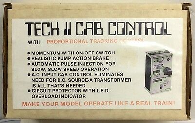 MRC Teck II cab control with proportional tracking control