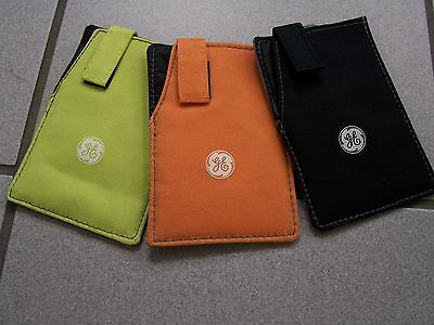 (NEW) GE Cell Phone IPod MP-3 Player Holder Case Group Of 3