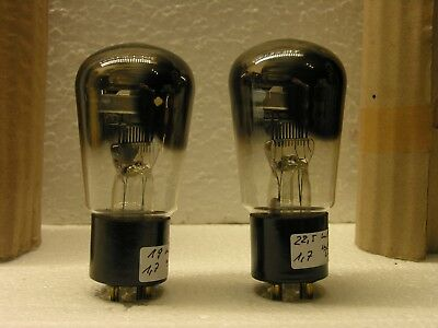 Telefunken RE304 triode DHT NOS pair for 300B, AD1, RE604 amp
