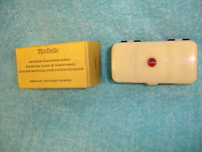 EASTMAN KODAK Co. THE RETINA CLOSE-UP RANGEFINDER in CASE, BOX, Made in GERMANY