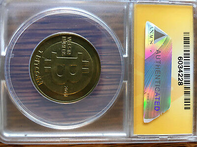 "2011 Original Bitcoin ""Fully Funded"" Casascius Error RARE!!"