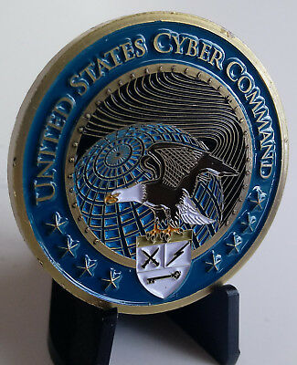 United States Cyber Command Challenge Coin
