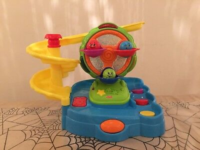 Jeux Fisher-Price : parc d'attraction Topzy Tumblers