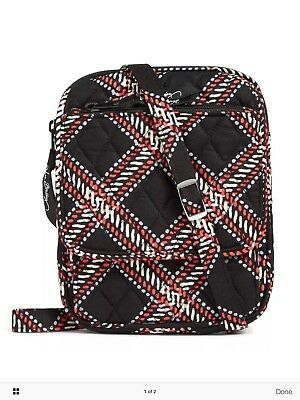 Vera Bradley Mini Hipster Crossbody in Minsk Plaid New With Tags