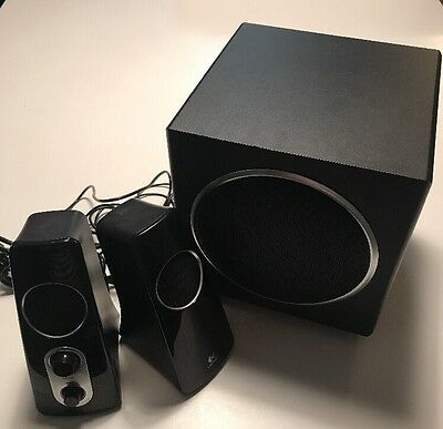 Logitech Z523 2.1 Speaker System 40 Watts with Subwoofer Computer Speakers