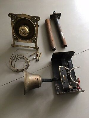 Brass Front Door Pull And Bell