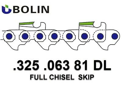 """20"""" Chain .325 .063 81 DL SC link fits Stihl Chainsaw 026 039 MS290 028 029"""
