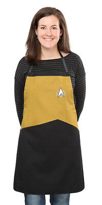 Star Trek The Next Generation Apron GOLD OPERATIONS STNG New Factory Sealed