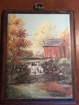 B Mitchell Barn Picture Vintage