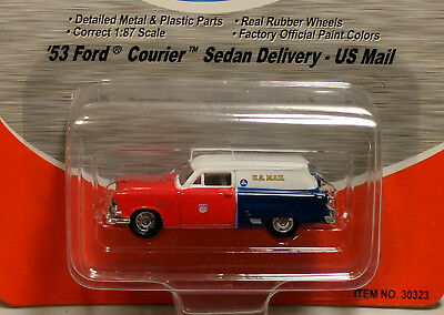 HO Mini Metals 30323 1953 Ford Courier Delivery Wagon - US Mail