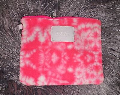 Victoria's Secret Pink Tie Dye Pouch Makeup Case Pencil Case Travel