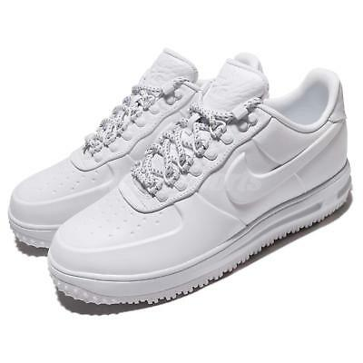 672d71ab48a Nike LF1 Low PRM Lunar Force 1 Snow Pack White Men Winter Duckboot  AA1124-100