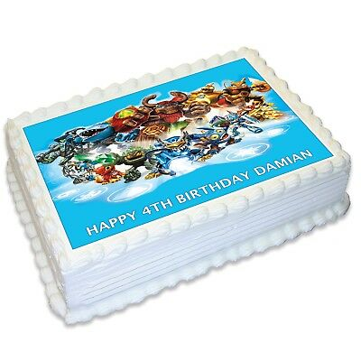 Skylander Giants A4 Edible Icing Cake Topper