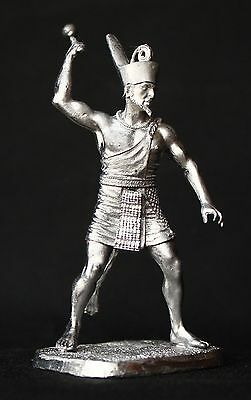 Narmer, Ancient Lower Egyptian Pharaoh KIT Tin toy soldier 54 mm. metal