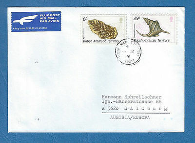 BAT British Antarctic - Beleg 1991 Halley -  ANTARKTIS