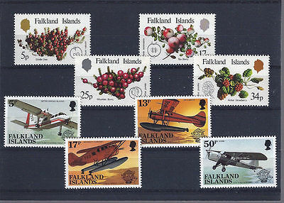 FALKLAND ISLANDS 1983 - mint stamps - postfrisch Nr. 382-385 + 386-389 **